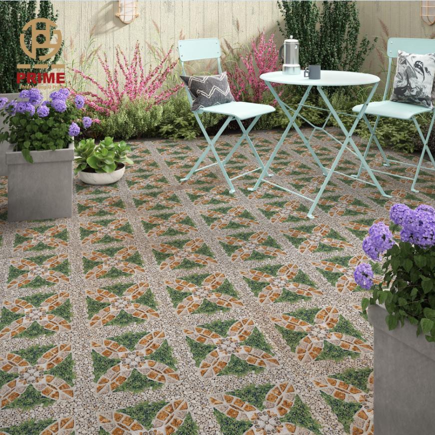 Gạch sân vườn 50x50 cm