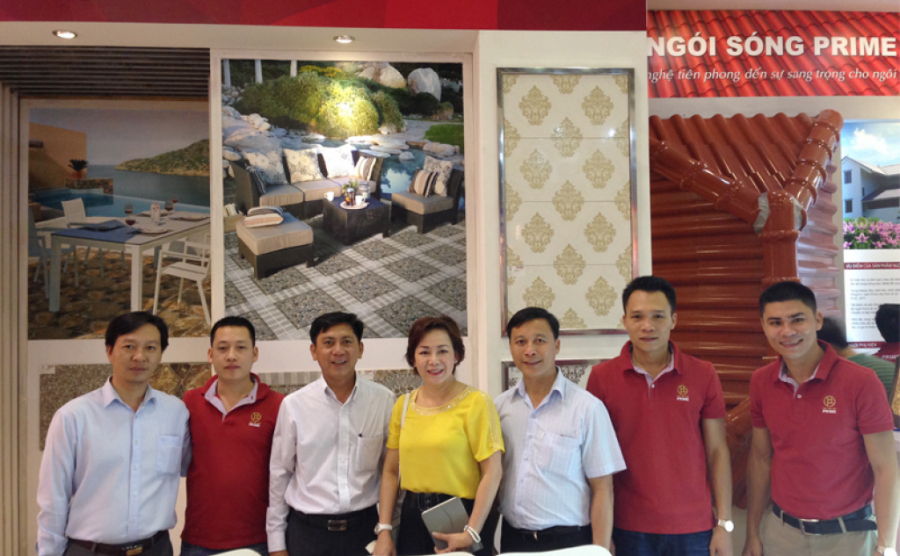 Prime Group exhibits trendy design and cutting-edge technology products at Vietbuild 2014