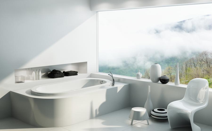 Những chiếc bồn tắm phong cách và độc đáo