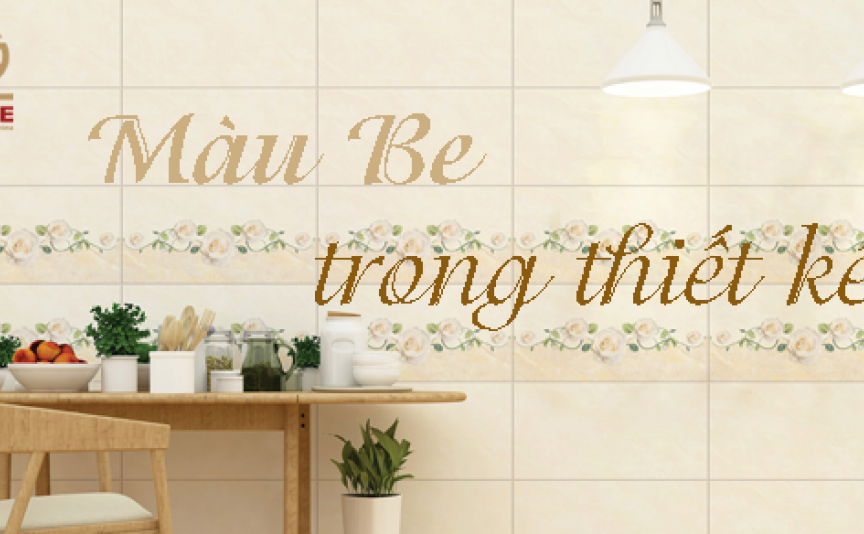 How beige is used in the design?
