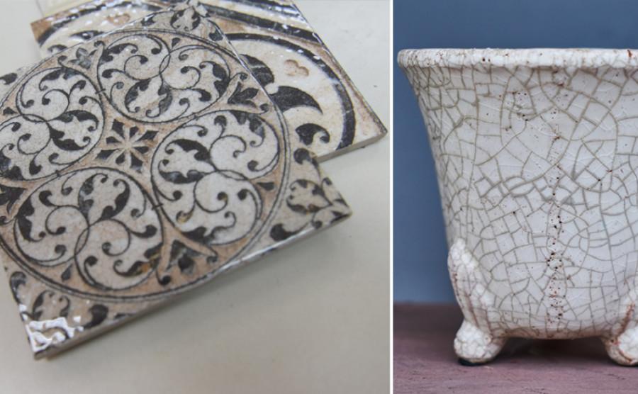 Đột phá mới trong công nghệ trang trí gạch men - Men rạn