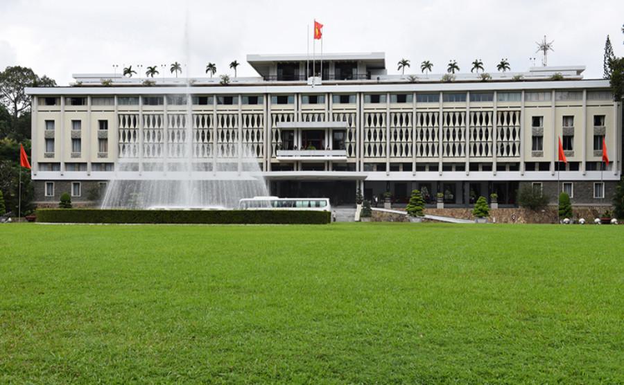 Dinh Độc Lập - Kiến trúc đẹp cho nhà miền nhiệt đới