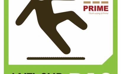 Prime tiên phong ứng dụng công nghệ chống trơn trên gạch lát tại Việt Nam