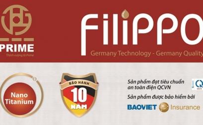 ản phẩm mới- Bình nước nóng Fillippo công nghệ Đức