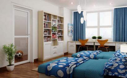 Ý tưởng sáng tạo cho phòng ngủ đôi
