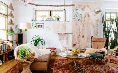 Thổi hồn cho căn phòng với phong cách Bohemien
