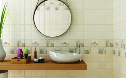 Phòng tắm sang trọng hơn nhờ gạch ốp lát