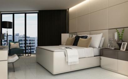 Thư giãn với phòng ngủ Phong cách Tối giản