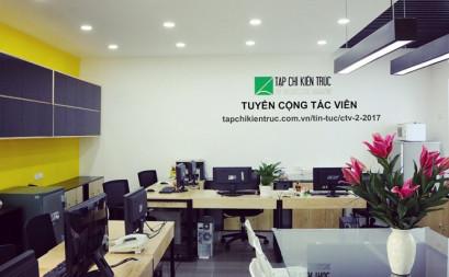 Dự án nổi bật: Khám phá VP Tạp Chí Kiến Trúc Việt Nam