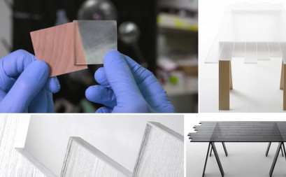 Transparent wood - winged material for green construction