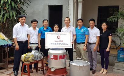Dream Come True - Biến giấc mơ thành hiện thực: Trang bị máy làm đậu cho chị Lê Thị Na
